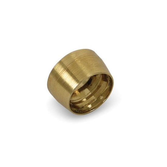 Earls 699060ERL Brass Replacement Olive For 0.040 Wall Hose, -6 AN