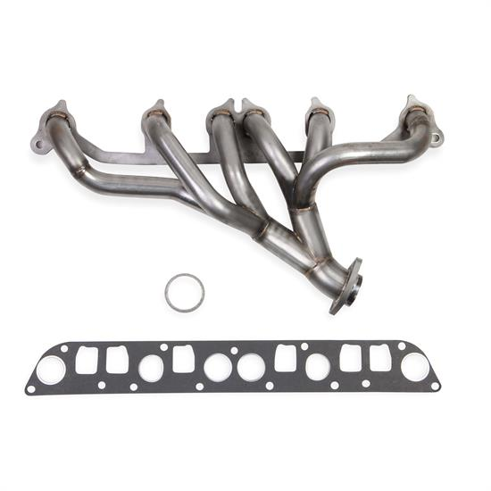 Hooker Headers 70305403-RHKR BlackHeart Shorty Header, Stainless
