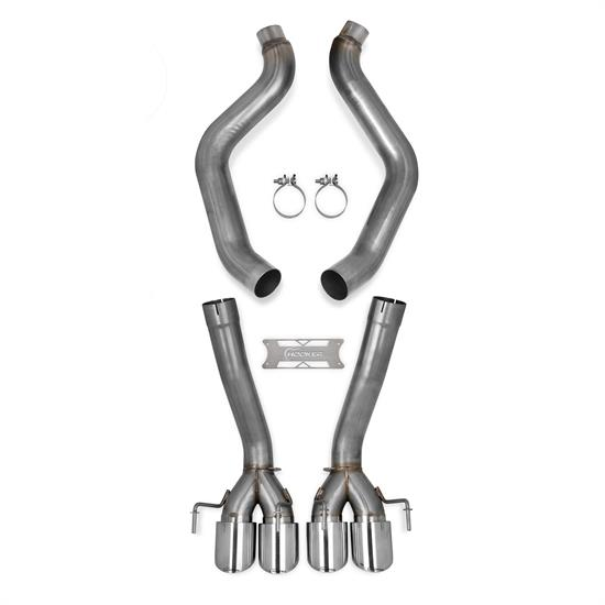 Hooker 70401316-RHKR BlackHeart Axle-Back Exhaust, 2009-13 Corvette