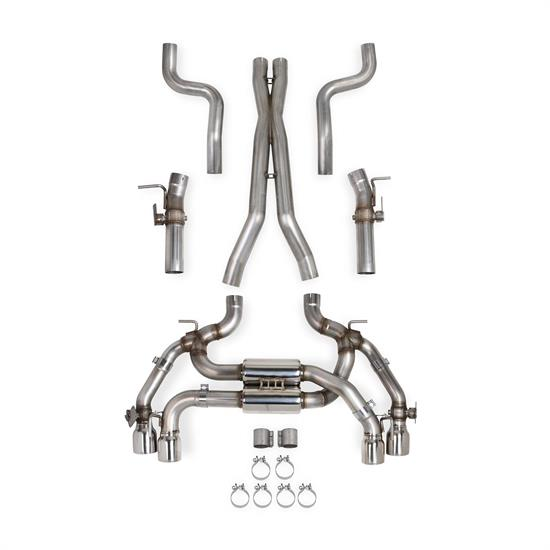 Hooker 705013115RHKR BlackHeart Dual Exhaust System