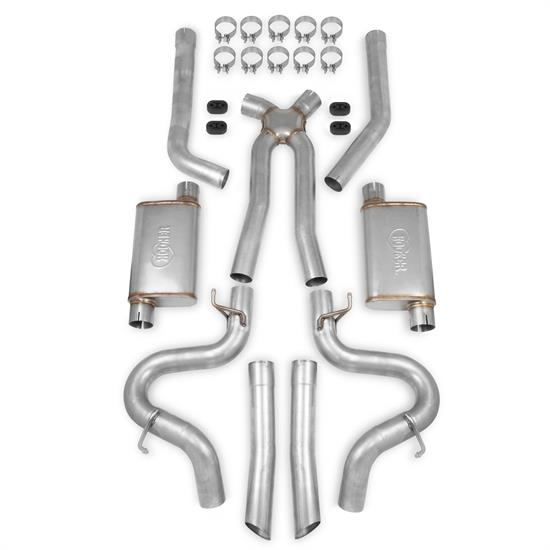 Hooker 70501363-RHKR BlackHeart Header Back Exhaust System