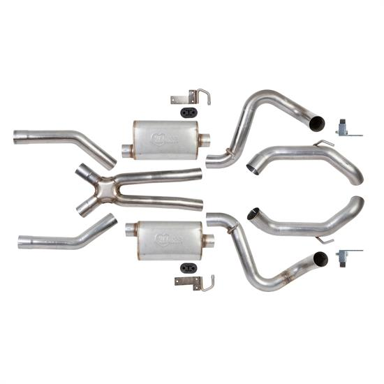Hooker 70501385-RHKR Header Back Exhaust System, 70-81 GM F-Body