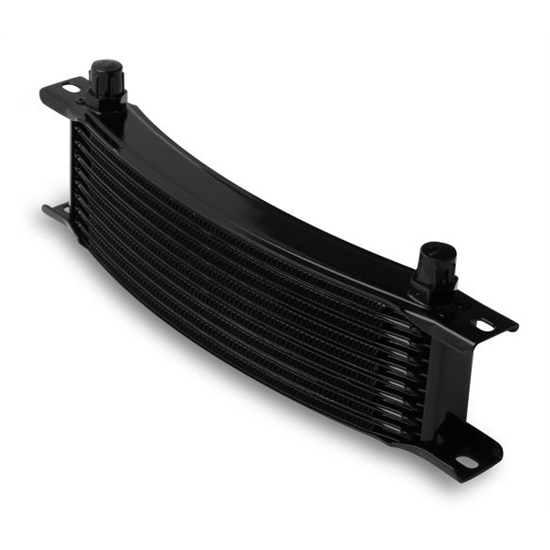 Earls 71006AERL Black -6 AN 10 Row Oil Cooler Core, Narrow