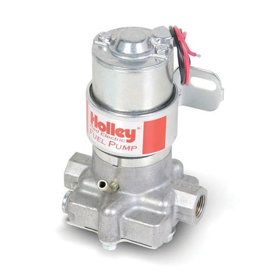 Holley 712-801-1 97 GPH Electric Fuel Pump, Red