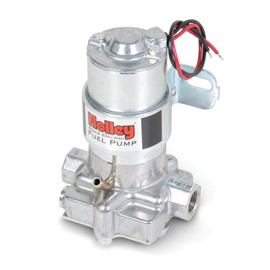 "High Flow Performance 140 GPH Electric Fuel Pump Universal 3//8/"" Black Fittings"