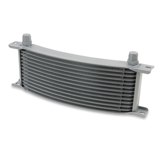 Earls 71608ERL Gray -8 AN 16 Row Oil Cooler Core, Narrow