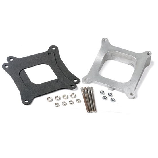 Holley 717-2 Aluminum intake manifold wedged spacer