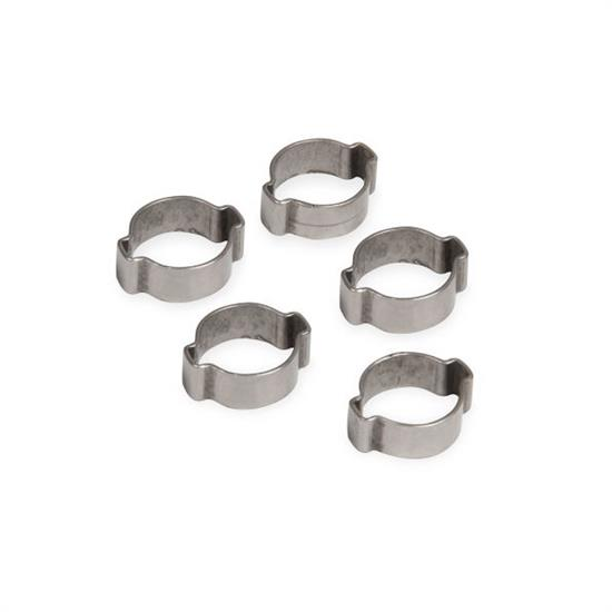 Earls 750011ERL Vapor Guard 2 Ear Type 5/16 Inch Hose Clamp 5/Pk
