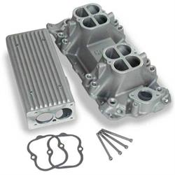 Weiand 7540 Stealth Ram Intake Manifold, Small Block Chevy V8