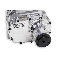 Weiand 7587P 1955-1986 SB Chevy Long Nose Polished Supercharger Kit
