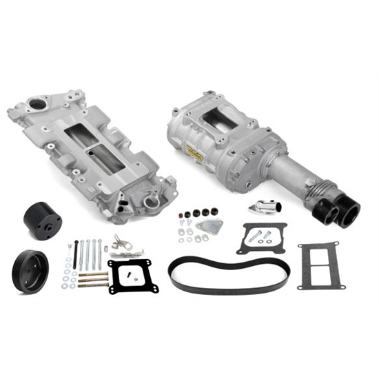 Weiand 7740-1 Pro-Street Supercharger Kit, Chevy Small Block