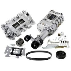 Weiand 7750-1 Pro-Street Supercharger Kit, Chevy Small Block