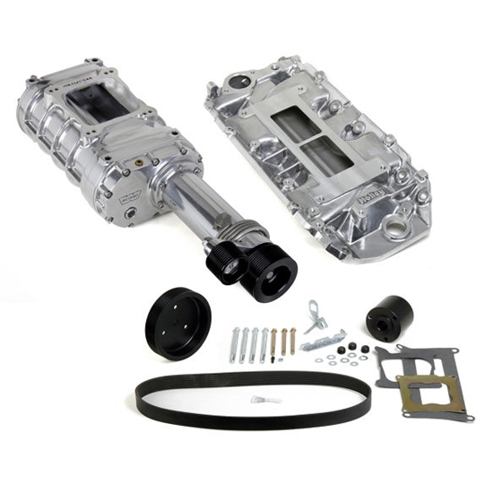 Weiand 7751-1 Pro-Street Supercharger Kit, Chevy Big Block