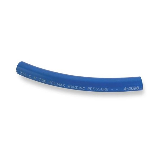Earls 790006ERL Blue Bulk Super Stock Hose, Size 6, 3/8 Inch ID
