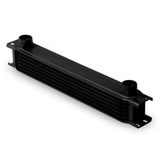 Earls 80700AERL Black -10 AN 7 Row Oil Cooler, Extra Wide