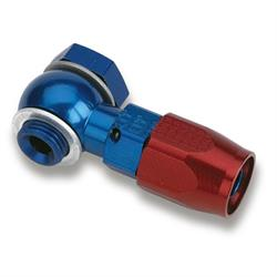 Earls 807694ERL 9/16-24 Thread -6 AN Hose Single Banjo Hose End