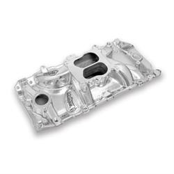 Weiand 8123P Street Warrior Intake Manifold 396-427ci, Oval Port Heads