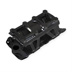 Sniper 825072 Sheet Metal Fabricated Intake Manifold, SBC, Black