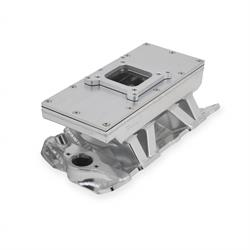 Sniper 825121 Sheet Metal Fabricated Intake Manifold, 4150, Silver