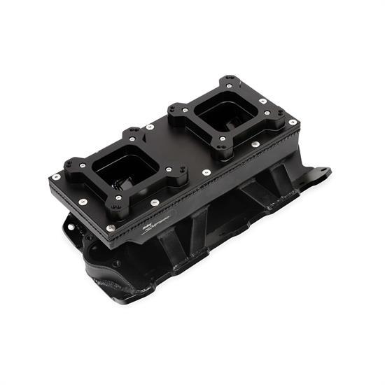 Holley Sniper 825124 Sheet Metal Intake Manifold, 2x4150