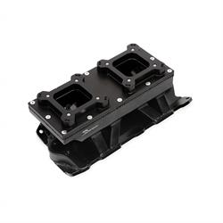 Sniper 825124 Sheet Metal Fabricated Intake Manifold, 2 x 4150, Black