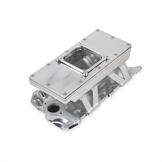 Holley Sniper 825131 Sheet Metal Intake Manifold, 4500, Silver