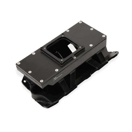 Sniper 825132 Sheet Metal Fabricated Intake Manifold, 4500, Black