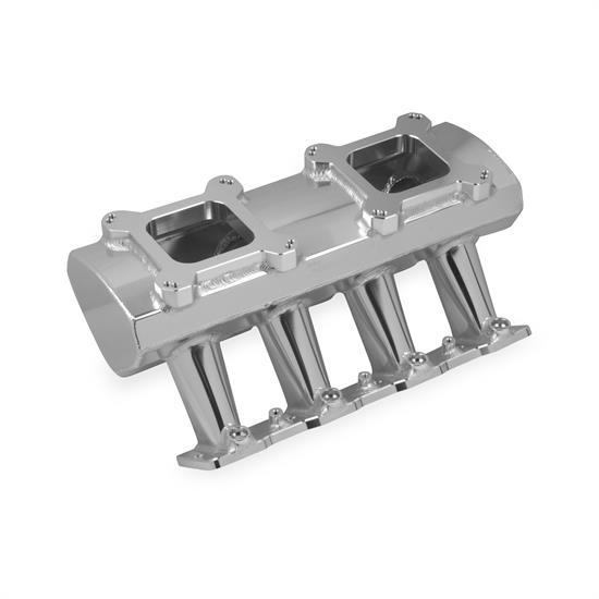 Holley Sniper 830071 Sheet Metal Intake Manifold, LS7, Silver