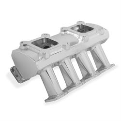 Sniper 831071 Sheet Metal Fabricated Intake Manifold, LS7, SIlver