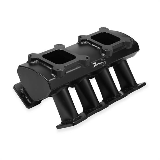 Holley Sniper 831072 Sheet Metal Intake Manifold, LS7, Black