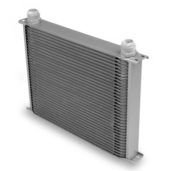 Earls 83416ERL Gray -16 AN 34 Row Oil Cooler, Extra Wide