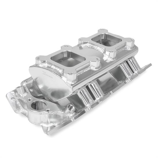Holley Sniper 835061 Sheet Metal Intake Manifold, BBC