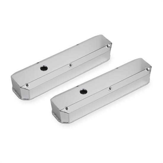 Sniper 890003 Fabricated Aluminum Valve Covers, 1964-91 SB Chrysler