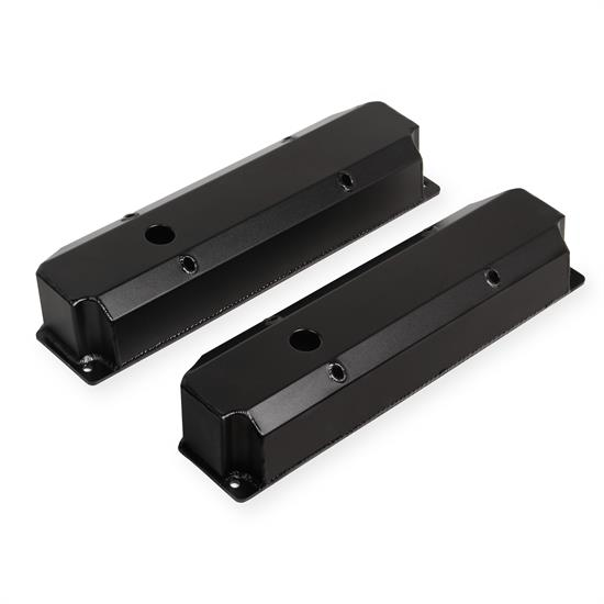 Holley Sniper 890006B Fabricated Valve Covers, 1965-78 BB Chrys