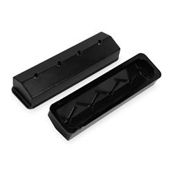 Sniper 890009B Fabricated Aluminum Valve Covers, 1987-97 SBC, Black