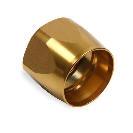 Earls 898243GERL -24 AN Swivel-Seal Auto-Fit Replacement Socket, Gold