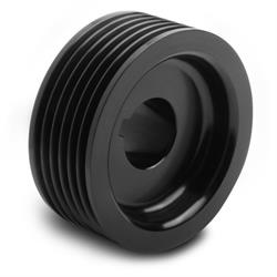 Weiand 90636 PowerCharger Upper Pulley, 6-Rib, 2.5 Inch Diameter