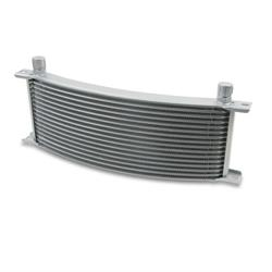 Earls 91306ERL 13 Row Oil Cooler Core, -6 AN Male Fitting, Gray Wide
