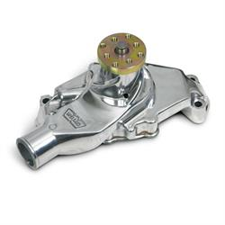 Weiand 9208P Action +Plus Aluminum SBC Short Water Pump,  Polished