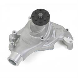 Weiand 9241 Team G Aluminum Water Pump w/Twisted Snout Design