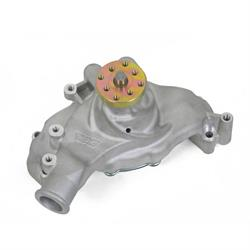 Weiand 9242 Action Plus Aluminum Water Pump w/Twisted Snout Design