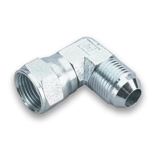 Earls 966304ERL 90 Degree -4 AN Male to -4 AN Female Swivel, Zinc
