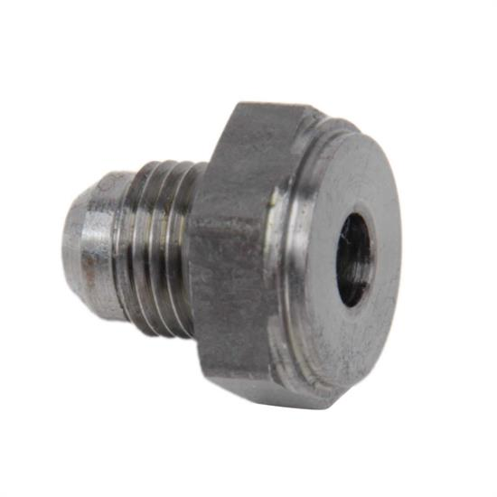 Earls 967106ERL -6 AN Male Weld Fitting, Raw Steel