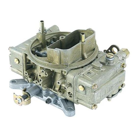Holley 0-9776 4160 Dual Quad 450 CFM 4 Barrel Carburetor