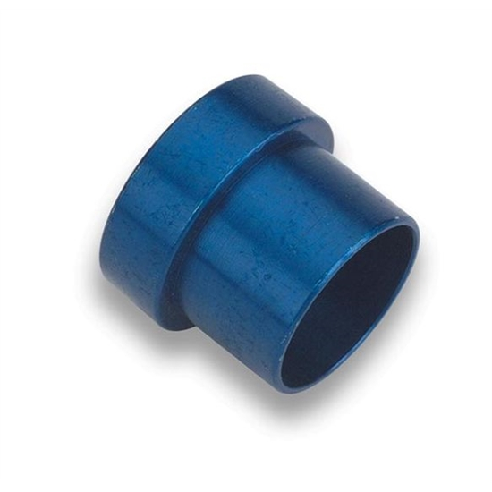 Earls 981908ERL Blue Anodized -8 Tube Sleeve, Lightweight Aluminum