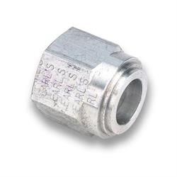 Earls 987106ERL -6 AN Female O-Ring Seal Weld Fitting, Aluminum