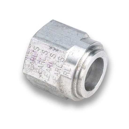 Earls 987110ERL -10 AN Female O-Ring Seal Weld Fitting, Aluminum