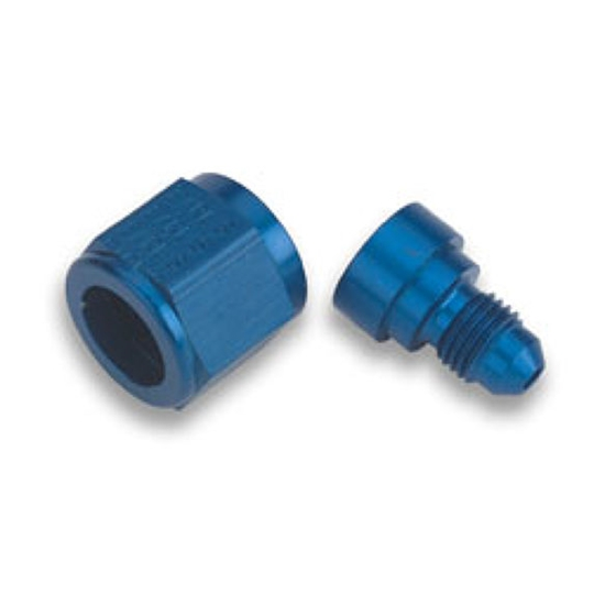 Earls 9892160ERL Blue -16 AN Female to -10 AN Male Flare Reducer