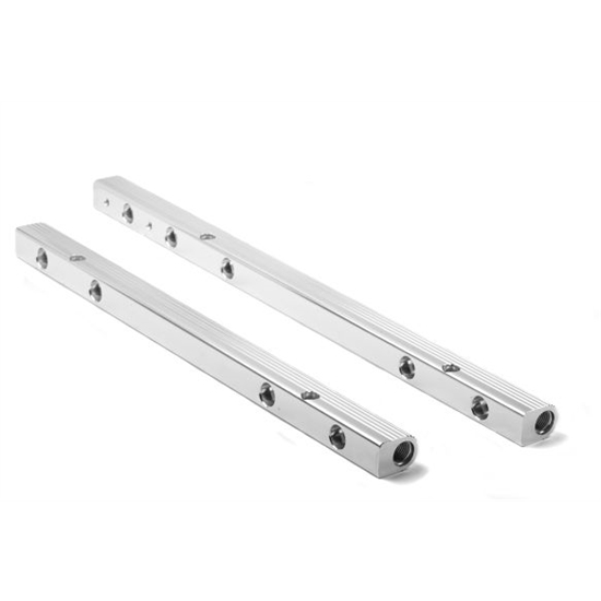 Holley 9900-145 Stainless Steel Fuel Rail Crossover, BB Chevy V8