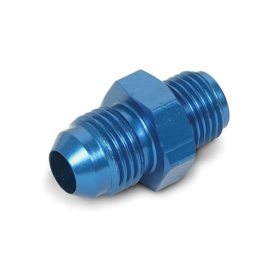 Earls 991946ERL -6 AN Male to 1/2-20 Inch Male Adapter, Blue
